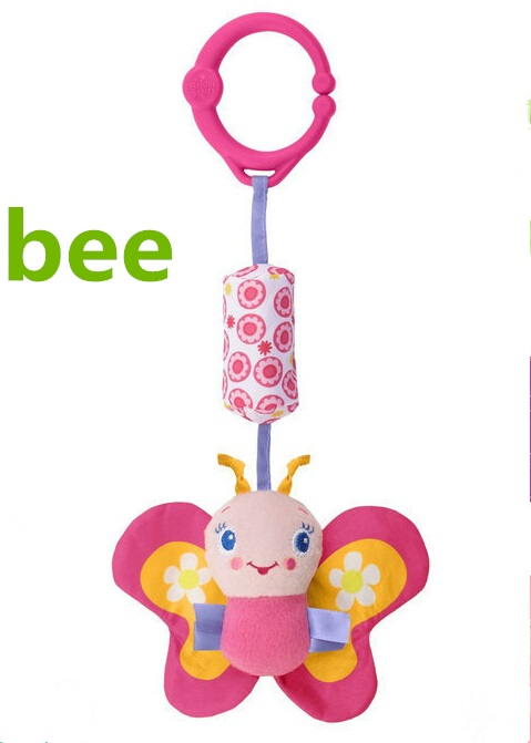 15% DISCOUNT! baby infant toddler kid crib toy hanging bell mobile stroller toy